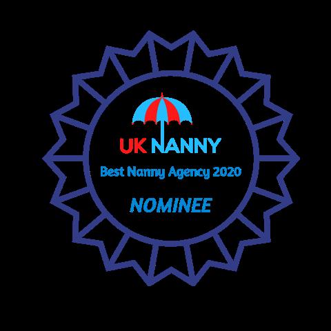 UK Nanny - Best Nanny Agency 2020 - Nominee